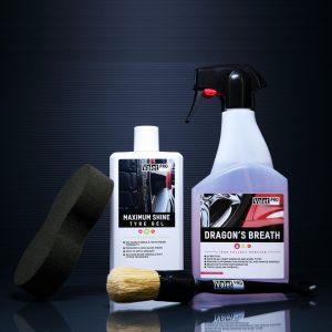 Car detailing product kit